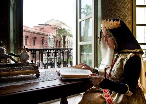 Monica Tronci Pau interpreta Eleonora Ph Bruno Atzori Sigurani per Obiettivo Sardegna