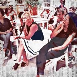 Intervento di Francesca Ena, direttrice del Centro antiviolenza di Iglesias e referente per la Sardegna di Stati Generali delle Donne ph Giulia Baita
