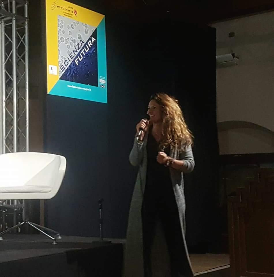 Al Festival della scienza – Cristina Muntoni